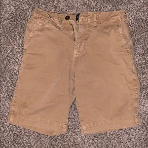 Men's American Eagle khaki shorts, 26